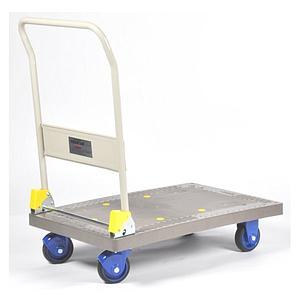 Chariot à dossier rabattable en polypropylène - PR-PF-301C-P - 300 kg