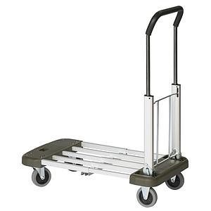 Chariot compactable aluminium EX-1A - 4 positions