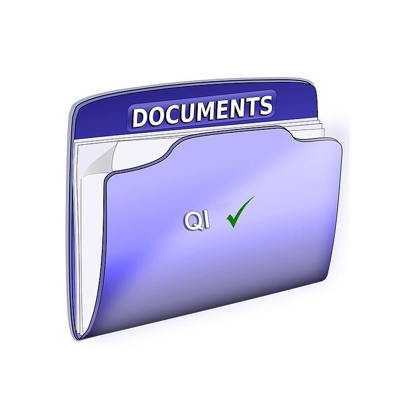 Checklist QI avec données d'usine pour validation sur site - Memmert
