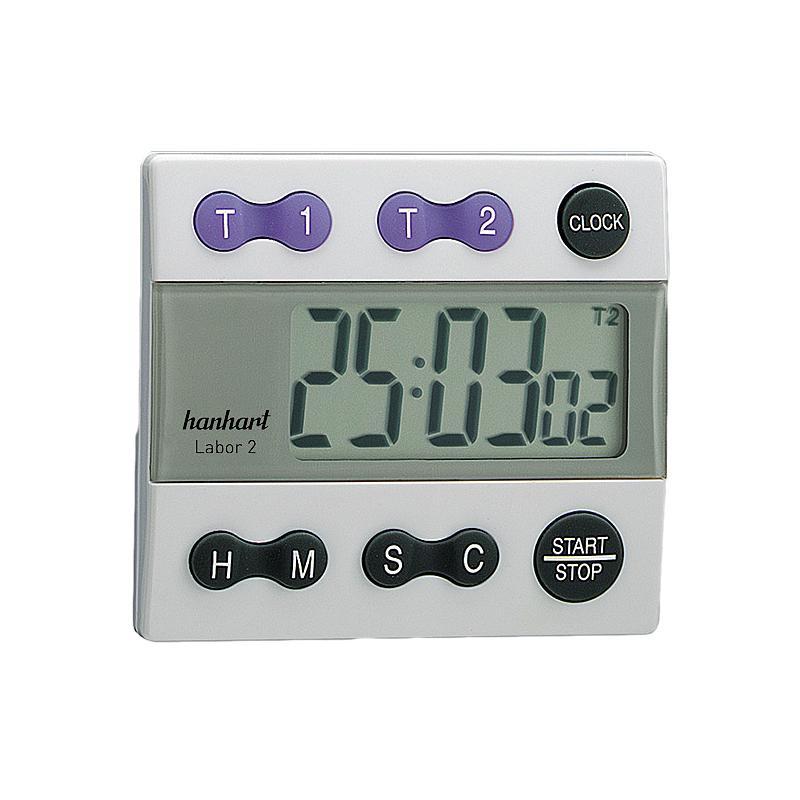 Chronomètre digital décompteur - Labor 2 - Hanhart