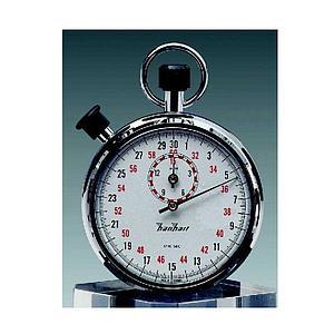Chronomètre double mesure en diamant poli - 15 min - Hanhart