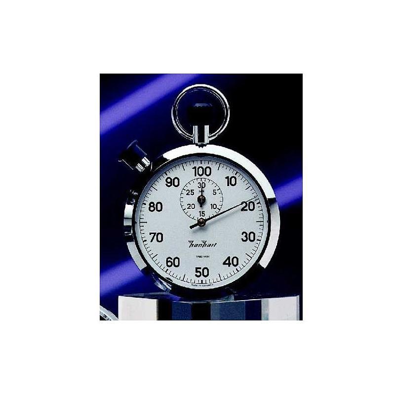 Chronomètre double mesure en diamant poli - 30 min - Hanhart