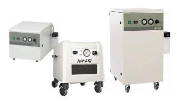 Compresseurs d'air sans huile en caisson insonorisé Jun-Air