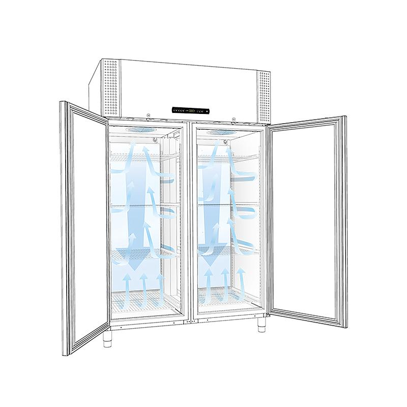 Congélateur antidéflagrant BioPlus RF 1400 - Portes pleines - GRAM