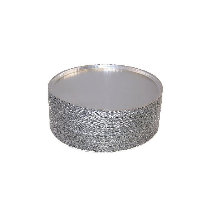 Coupelles aluminium jetables - Ø 90 mm - Lot de 50