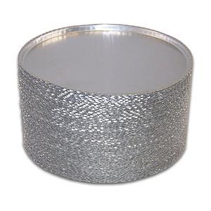 Coupelles aluminium jetables - Ø 90 mm - Lot de 80 - Ohaus