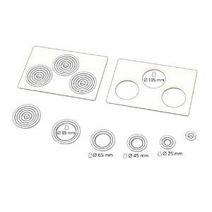 Couvercle plat inox avec ouvertures et anneaux - Memmert