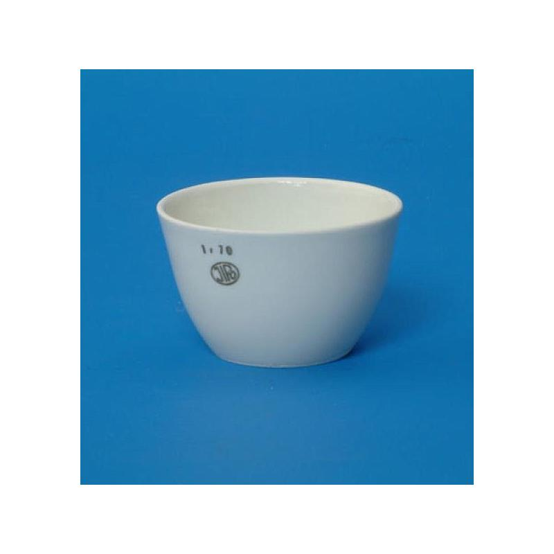 Creuset porcelaine forme basse 34 ml - Ø 50 mm - H 32 mm - Lot de 5