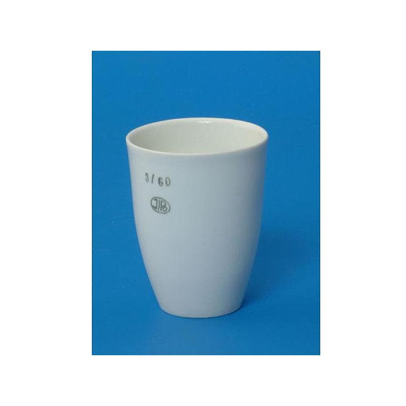 Creuset porcelaine forme haute - Ø 50 mm - Hauteur 62 mm - Capacité 72 ml - Lot de 5