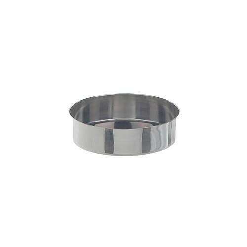 Cristallisoir inox - forme basse - 100 ml
