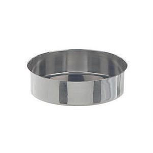Cristallisoir inox - forme basse - 75 ml