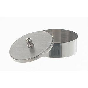 Cristallisoir nickel avec couvercle - forme basse - 45 ml