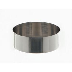 Cristallisoir nickel - forme basse - 100 ml