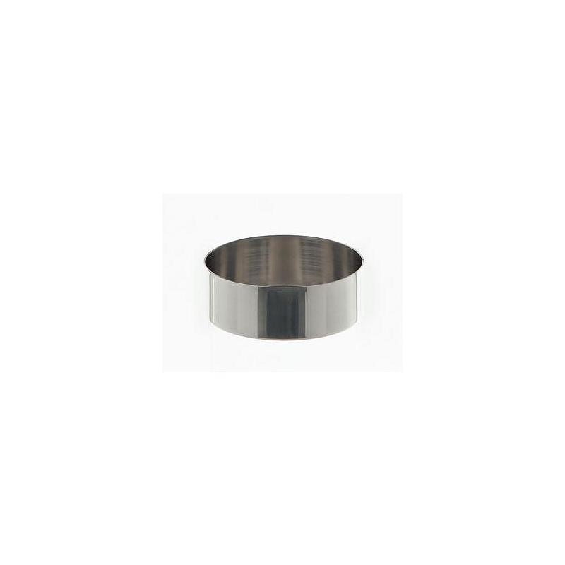 Cristallisoir nickel - forme basse - 45 ml