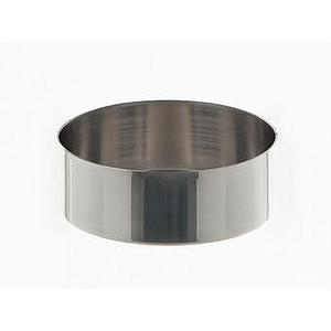 Cristallisoir nickel - forme basse - 73 ml