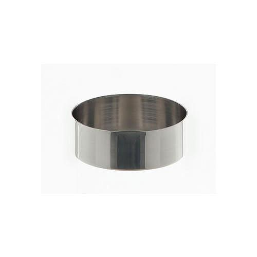 Cristallisoir nickel - forme basse - 73 ml