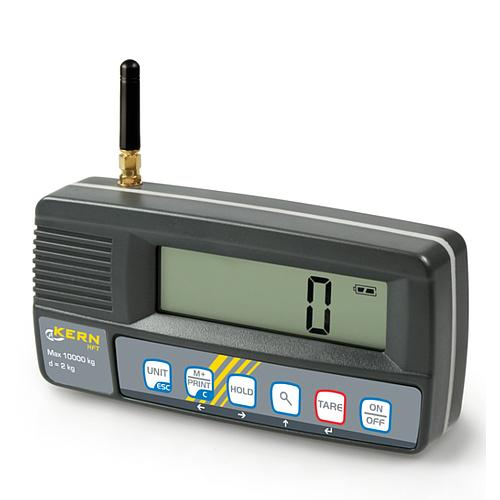 Crochet peseur : crochet avec afficheur radio HFT 15T5- Kern