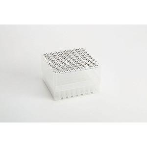 Cryoboîte en PP hauteur 80 mm - Boîte de 36 pièces