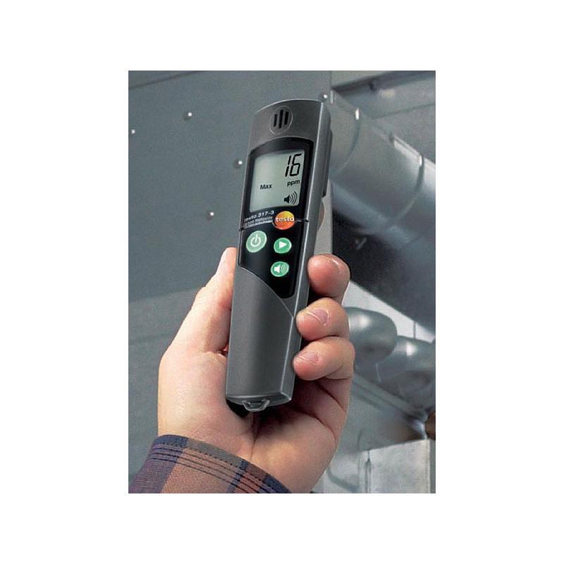 Détecteur de CO ambiant testo 317-3