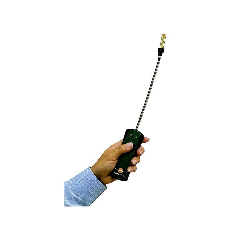 Détecteur de fuites de gaz de combustion testo 317-1