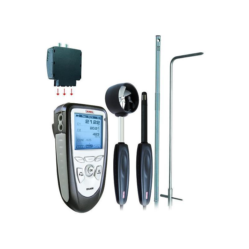 DIAM-E - Appareil de mesure multifonctions - KIMO