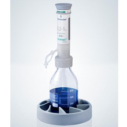 Distributeur Ceramus classic pour dosage manuel - 0.2 à 1.0 ml - Hirschmann