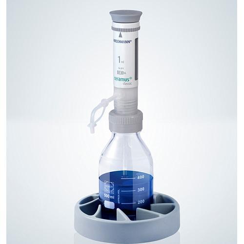 Distributeur Ceramus classic pour dosage manuel - 1.0 ml fixe - Hirschmann