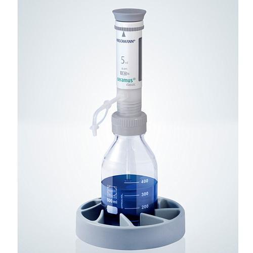 Distributeur Ceramus classic pour dosage manuel - 5.0 ml fixe - Hirschmann