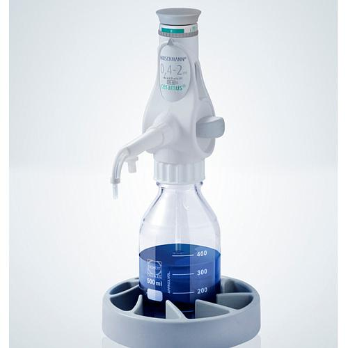 Distributeur Ceramus pour dosage manuel - 0.4 à 2.0 ml - Hirschmann