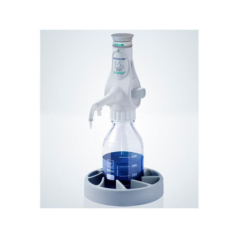 Distributeur Ceramus pour dosage manuel - 1.0 à 5.0 ml - Hirschmann