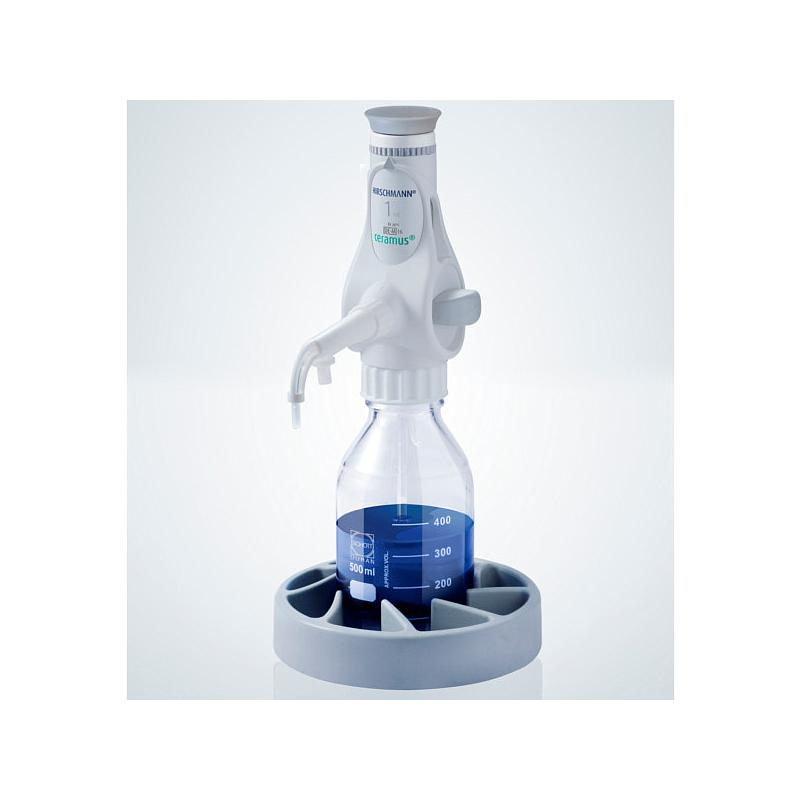 Distributeur Ceramus pour dosage manuel - 1.0 ml fixe - Hirschmann