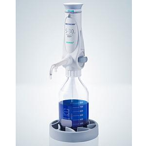Distributeur Ceramus pour dosage manuel - 5.0 à 30.0 ml - Hirschmann