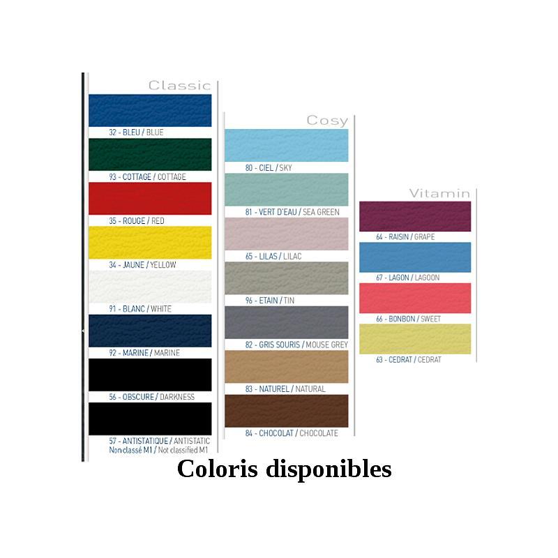 Divan hauteur fixe 118 - Sellerie plate 65cm - PROMOTAL