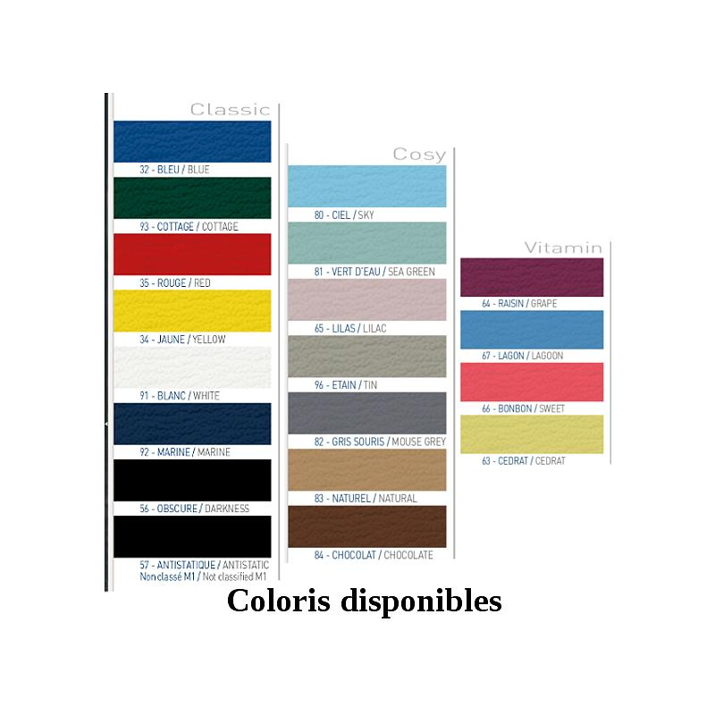 Divan hauteur réglable QUEST - Sellerie plate 75cm - PROMOTAL