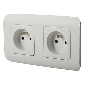Double prise électrique interne - Don Whitley