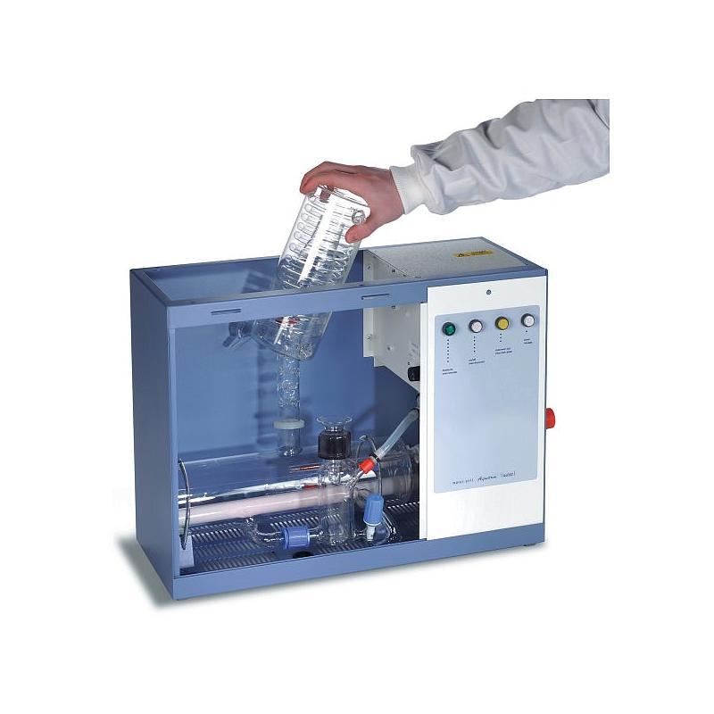 Eau distillée : distillateur en verre A4000 - Stuart