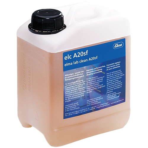 Elma Lab Clean A20sf - Produit de nettoyage en bidon 25 litres