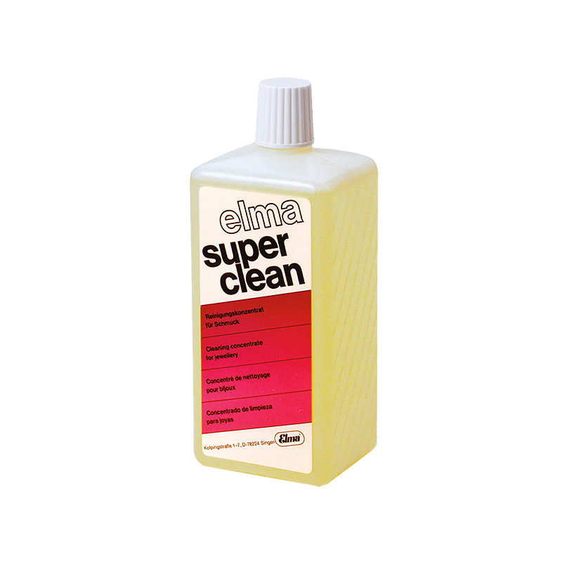Elma Super Clean - Produit de nettoyage - Bidon de 1 litre