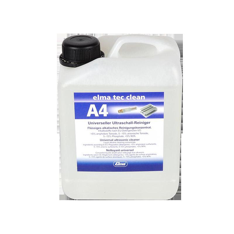 Elma Tec Clean A4 - Produit de nettoyage - Bidon de 2.5 litres