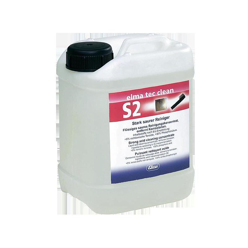 Elma Tec Clean S2 - Produit de nettoyage - Bidon de 200 litres