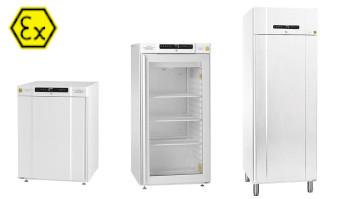 Réfrigérateurs antidéflagrants Gram BioCompact II