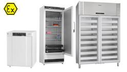 Réfrigérateurs antidéflagrants ATEX