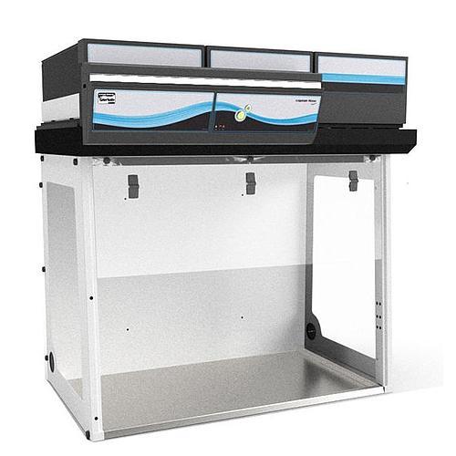 Enceinte à air propre CAPTAIR Flow 483 Smart + filtre particulaire HEPA 14 - Erlab