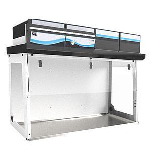 Enceinte à air propre CAPTAIR Flow 714 Smart + filtre particulaire HEPA 14 - Erlab