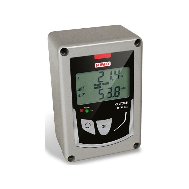 Enregistreur autonome de température, humidité et CO2 - KTH-CO2