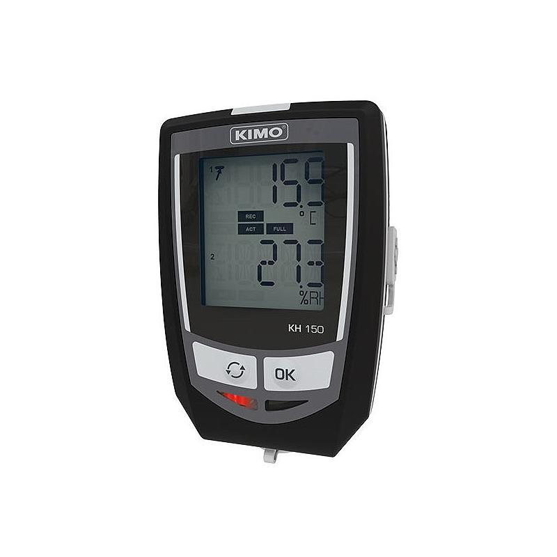 Enregistreur d'humidité relative et de température KH-150 - Kimo