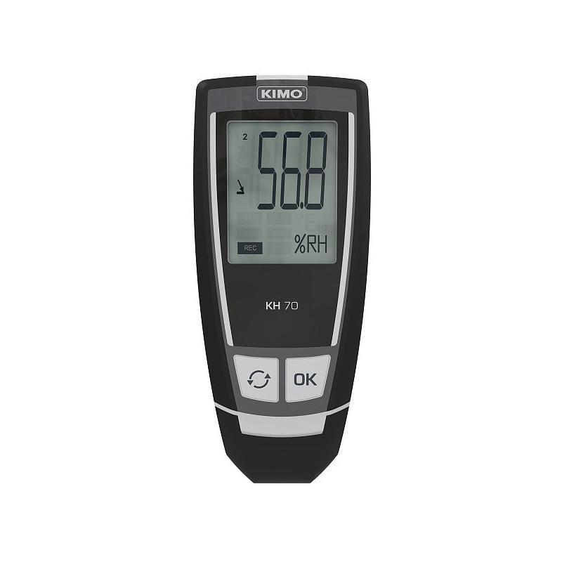 Enregistreur d'humidité relative et de température KH-70 - Kimo