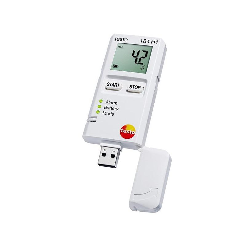 Enregistreur de données : enregistreur d'humidité et température - 184 H1 - TESTO