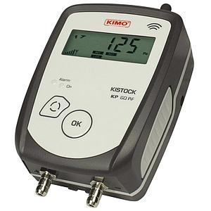 Enregistreur de données : enregistreur de pression radio KP-60-IO-RF - KIMO