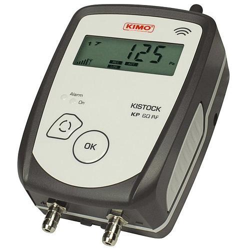 Enregistreur de données : enregistreur de pression radio KP-61-IO-RF - KIMO